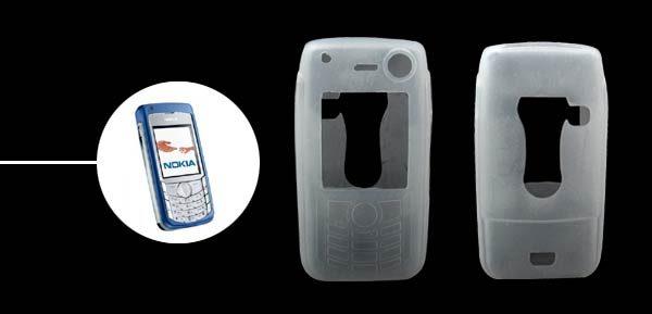 Silicon Case For Nokia 6681 CLEAR