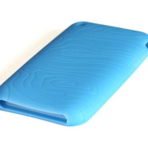 Silicone Full Cover Case for iPhone 3G/3GS Blue (Γαλάζιο)