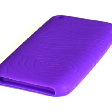 Silicone Full Cover Case for iPhone 3G/3GS Lila (μωβ)