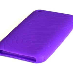 ilicone Full Cover Case for iPhone 3G/3GS Purple