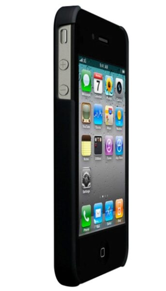TECHNAXX Hard Cover Case for iPhone 4 Black