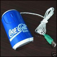 USB Optical Mouse Coca-Cola (Blue)