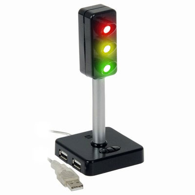 Usb Traffic Light & Hub