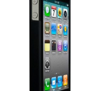 Technaxx Silicon Case for Iphone 4G Black