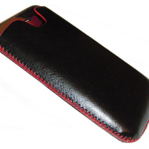 Θήκη για IPhone SlimCase Black/Red NEW STYLE