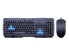 Ενσύρματο Σετ gaming ποντίκι και πληκτρολόγιο zornwee revenge ii
