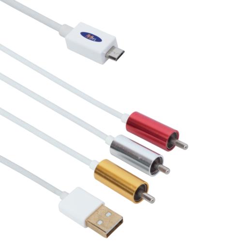 cable mhl (micro usb) 3rca