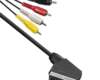 cable scart chinch rca male