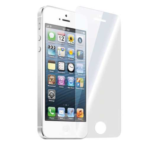 glass protector detech tempered glass for iphone 5/5s