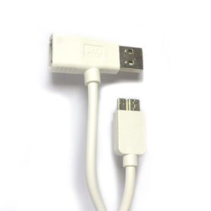 data cable micro usb 3.0 usb /usb samsung note Бял