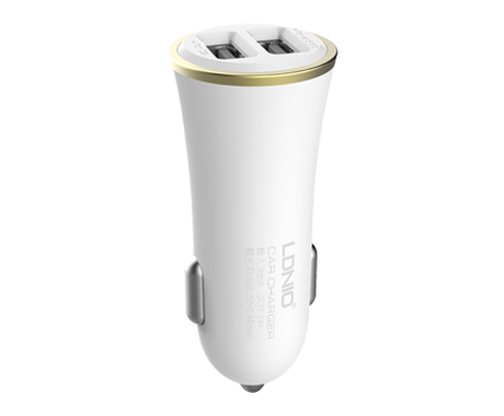car charger ldnio dl-c28 dc12-24v 5v/3