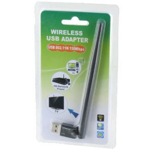 150Mbps Wifi Adapter with External Antenna Ultra Mini