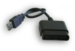 1x USB to Playstation 2 Converter Cable