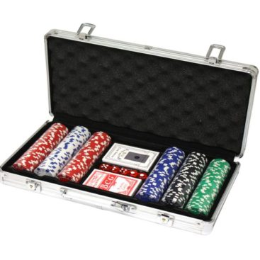 300 Poker Chips with Alu Case (11,5 Gramm)