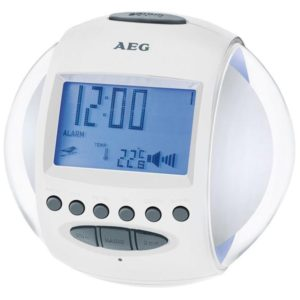 AEG Clock Radio MRC 4117 white