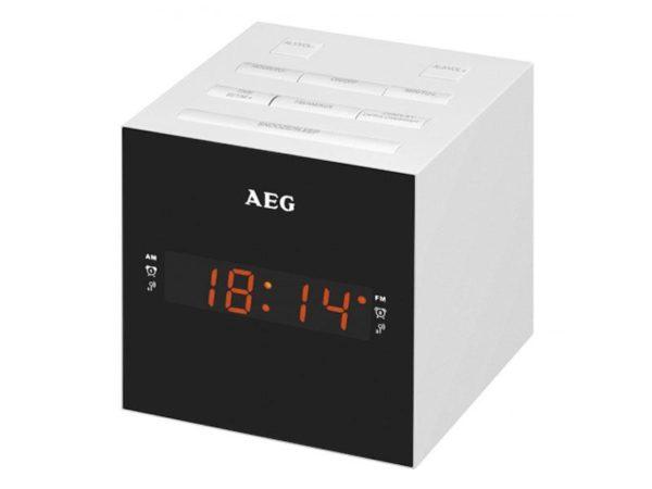 AEG Clock Radio USB AUX-In MRC 4150 white
