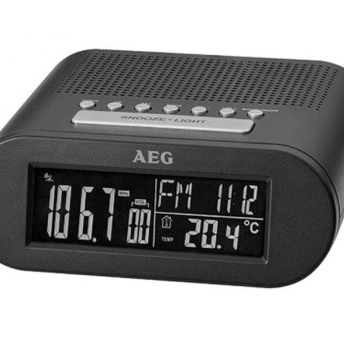 AEG Clock radio MRC 4145 F Black