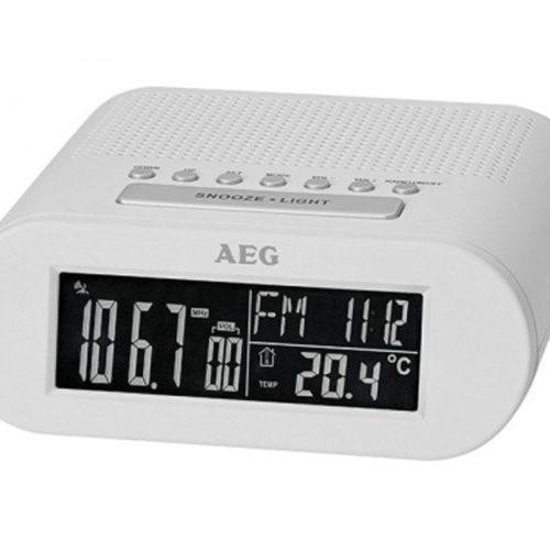 AEG Clock radio MRC 4145 F White