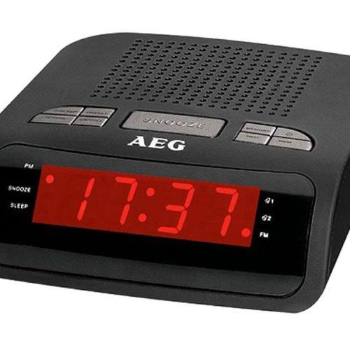 AEG MRC 4142 Clock radio black