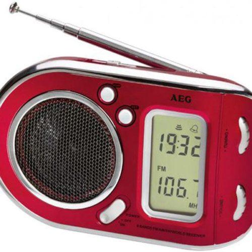 AEG Multi-band radio WE 4125 Red