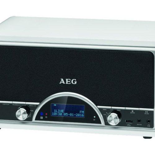 AEG Retro Digital Radio Bluetooth NDR 4378 DAB+ (white)