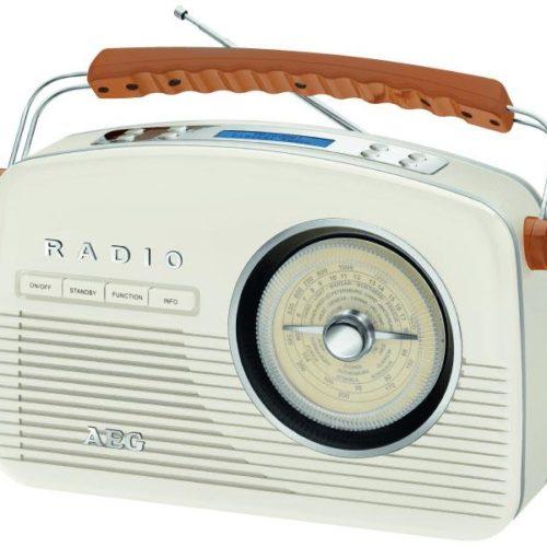 AEG Retro Digital Radio NDR 4156 DAB+ (creme)