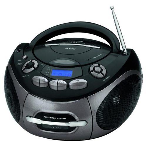 AEG Stereo Cassette-Radio CD SR 4366 CD