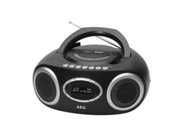 aeg stereo radio cd dab sr 4370 cd dab usb black. Black Bedroom Furniture Sets. Home Design Ideas