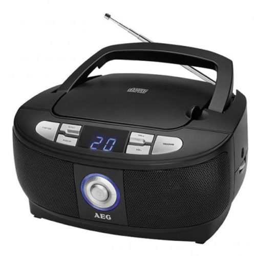 AEG Stereo Radio with CD SR 4379 CD Black