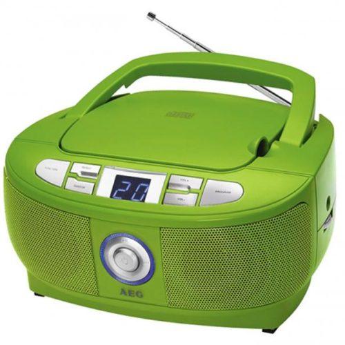 AEG Stereo Radio with CD SR 4379 CD Green
