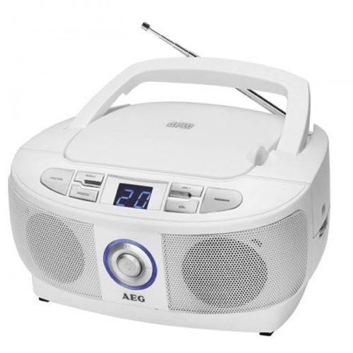 AEG Stereo Radio with CD SR 4379 CD White