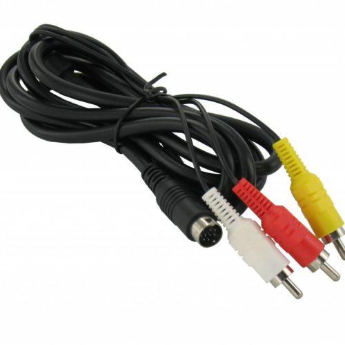 AV Cable for Sega Mega Drive 2 and 3