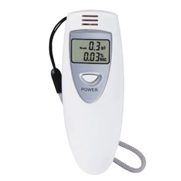 Alcohol tester LCD