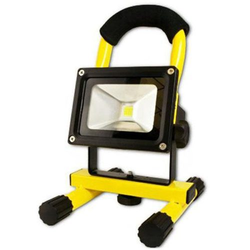 Arcas 10 Watt LED Flood Light rechargeable (Yellow)