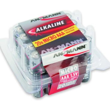 Batterie Ansmann Alkaline Micro AAA (20 pieces Box)