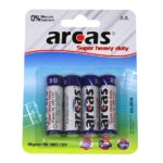 Batterie Arcas R06 Mignon AA (4 pieces)