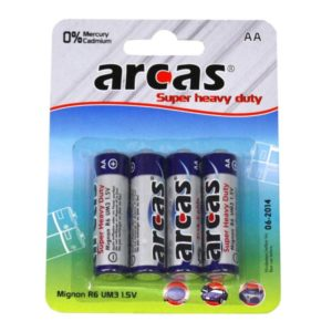 Batterie Arcas R06 Mignon AA (4 pieces)
