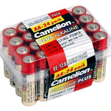 Batterie Camelion Alkaline LR6 Mignon AA (Box 24 pcs)