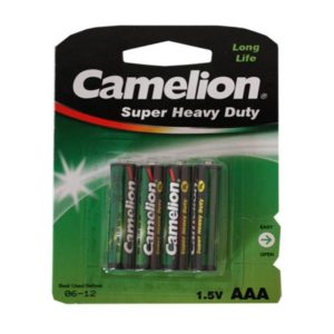Batterie Camelion R03 Micro AAA (4 pieces)