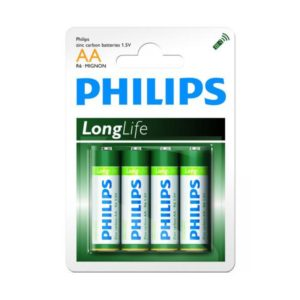 Batterie Philips Longlife R06 Mignon AA (4 pieces)