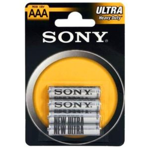 Batterie SONY Zink-Chlorid Ultra R03 Micro AAA (4 St.)