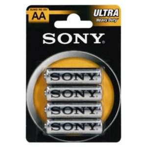 Batterie SONY Zink-Chlorid Ultra R06 Mignon AA (4 St.)