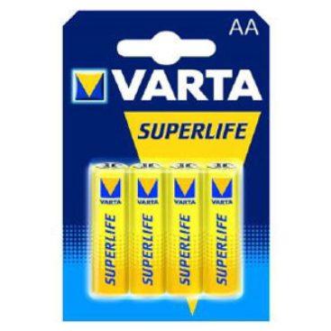 Batterie Varta Superlife R06 Mignon AA (4 St.)