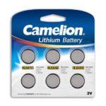 Battery Camelion Lithium Mix Set CR2016, CR2025, CR2032 (6 pcs.)