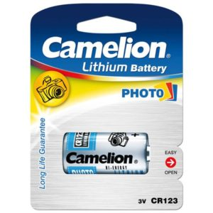 Battery Camelion Lithium Photo CR123A (1 Pcs)