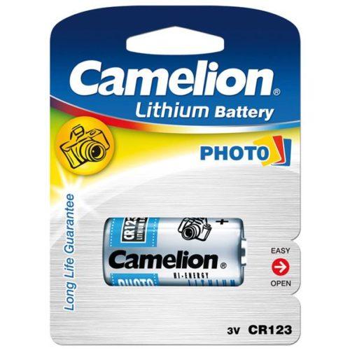 Battery Camelion Lithium Photo CR123A (1 Pcs)