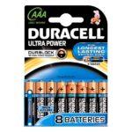 Battery Duracell Ultra Power LR3 Micro AAA (8 pcs)