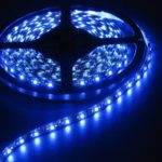 Blue 5 Meter 60 LED 12 Volt Orange PCB