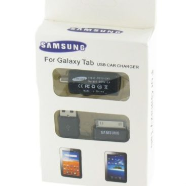 Car Charger + Data Cable for Samsung Galaxy Tab 10.1