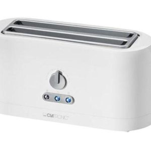 Clatronic 4 slice long-slot Automatic toaster TA 3534 white